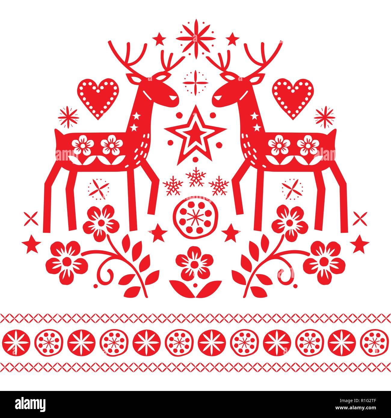 Folk Art Christmas Decorations
