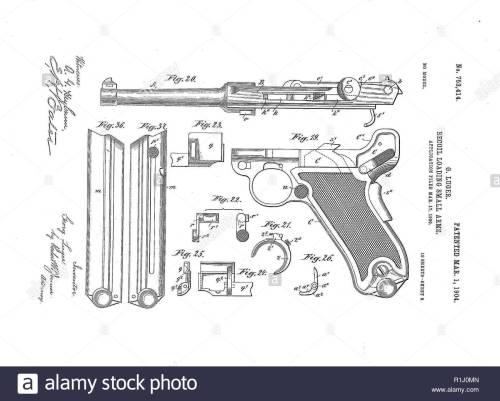 small resolution of luger parabellum pistol 10 9