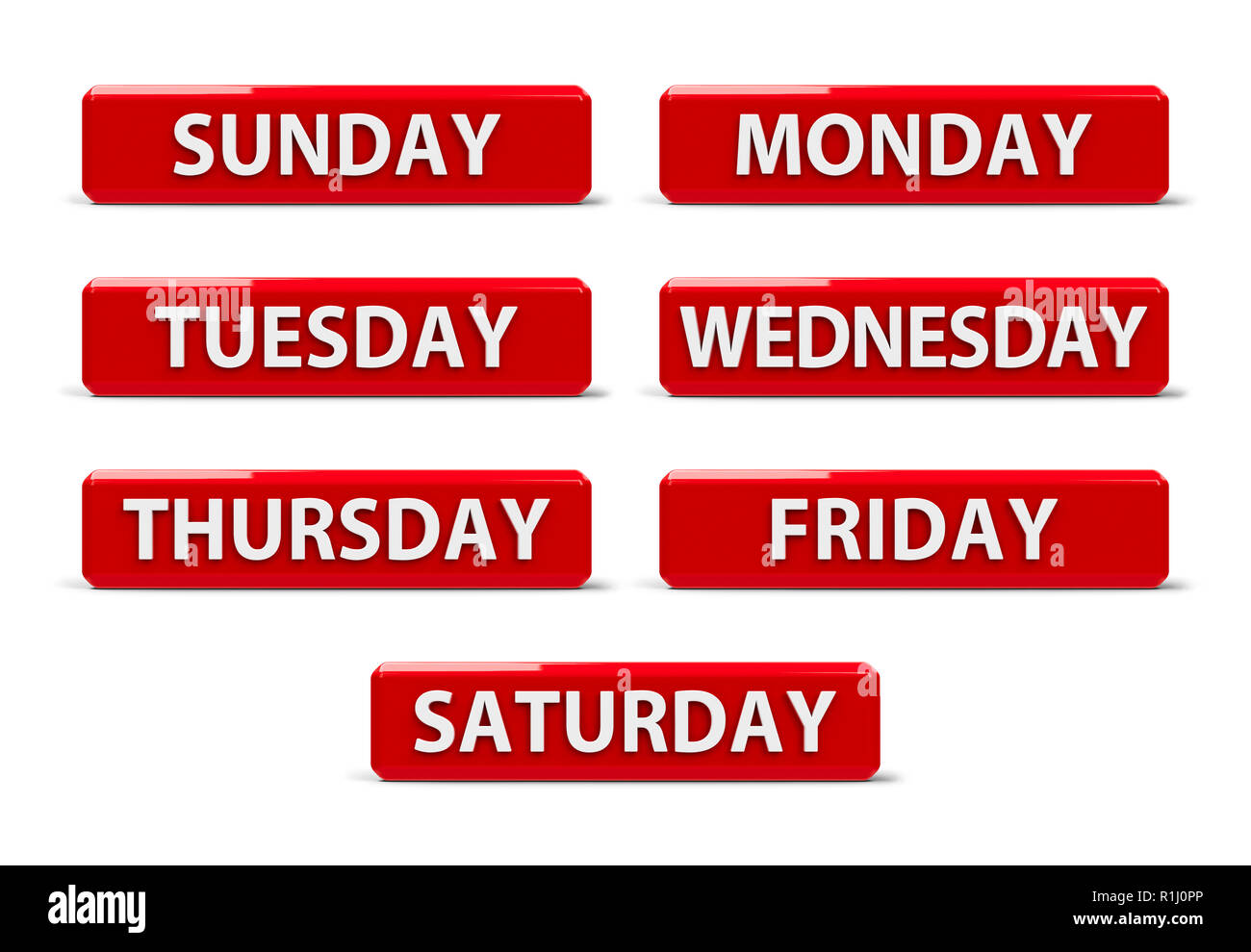 set of days of