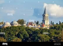 Topkapi Palace Istanbul Summer Stock &