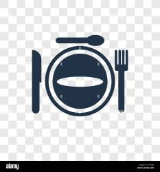 Restaurant vector icon isolated on transparent background Restaurant transparency logo concept Stock Vector Image & Art Alamy