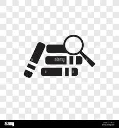 Research with books vector icon isolated on transparent background Research with books transparency logo concept Stock Vector Image & Art Alamy