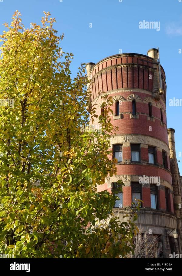 Historic Buildings Cleveland Ohio Stock &