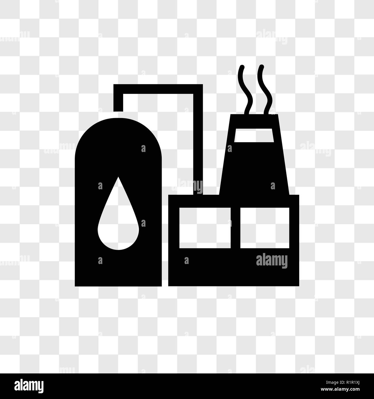 factory vector icon isolated