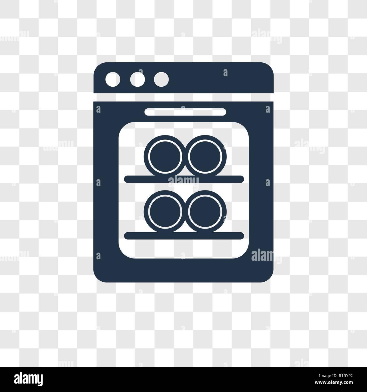 dishwasher vector icon isolated