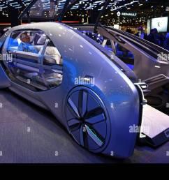 renault ez go concept car full electric mondial paris motor show paris france europe [ 1300 x 972 Pixel ]