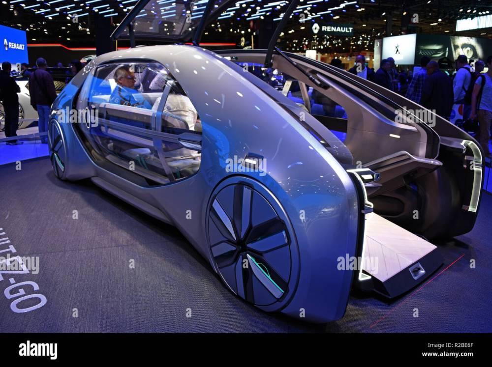 medium resolution of renault ez go concept car full electric mondial paris motor show paris france europe