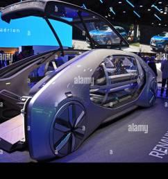 renault ez go concept car full electric mondial paris motor show paris france europe [ 1300 x 979 Pixel ]