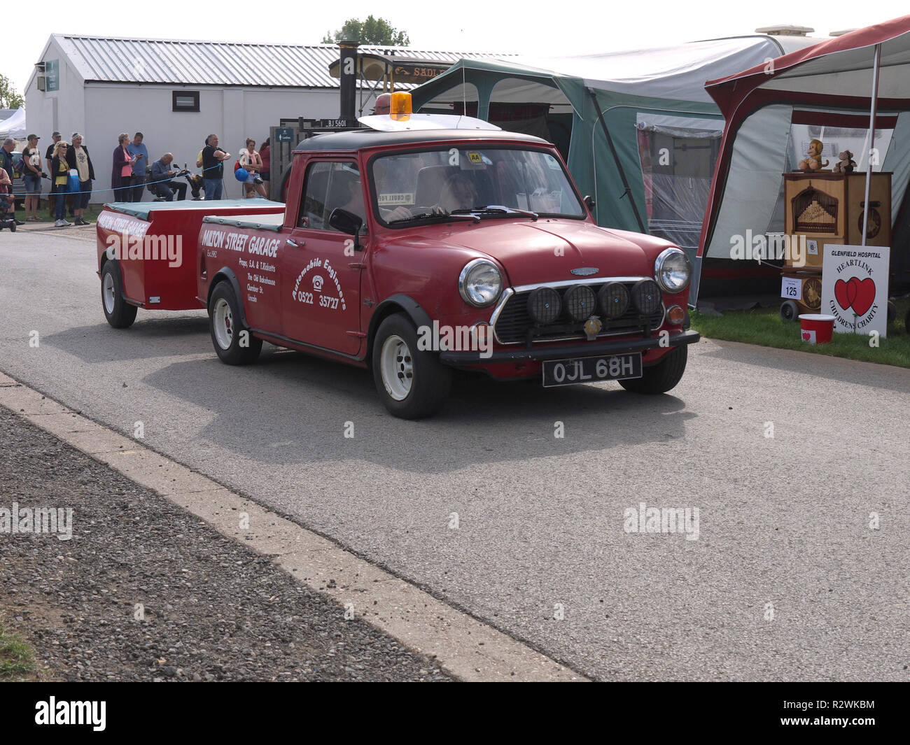 hight resolution of classic 1969 70 austin cooper pick up and trailer at lincoln steam and vintage rally