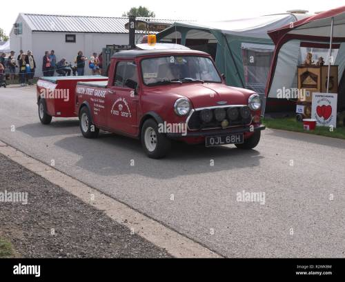 small resolution of classic 1969 70 austin cooper pick up and trailer at lincoln steam and vintage rally