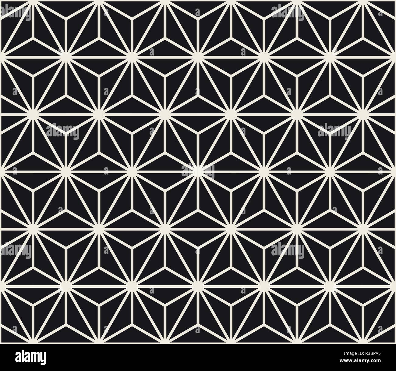 https www alamy com vector seamless star shape pattern modern stylish abstract texture repeating geometric tiles image225837757 html