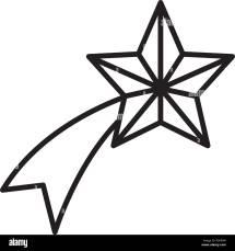 Shooting Star Cut Stock & - Alamy