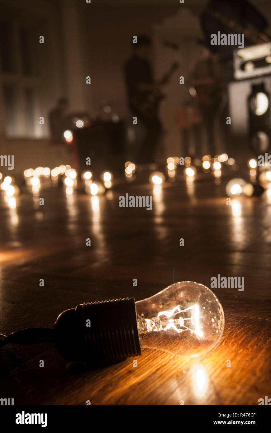 https www alamy com incandescent light bulbs rock music video image226352127 html