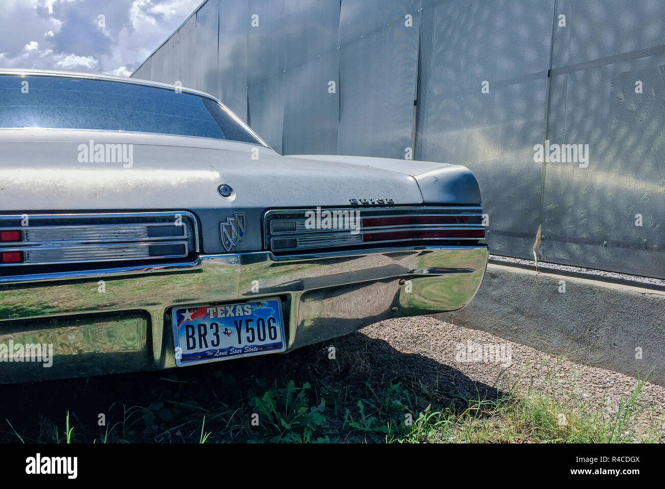 hight resolution of a vintage buick lesabre possibly 1968 sits in a lot next to a sheet