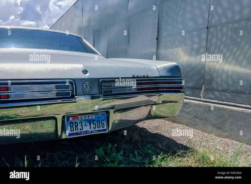 small resolution of a vintage buick lesabre possibly 1968 sits in a lot next to a sheet