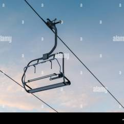 Buy Ski Lift Chair Covers For Folding Chairs Stock Photo 226555790 Alamy