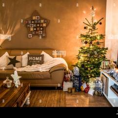 Beautiful Living Rooms At Christmas Room Ideas Merry Tree Setup Aith Gifts Decorated For Happy Holidays Home