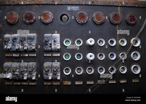 small resolution of 09 november 2018 bavaria pullach an old fuse box can be seen in a bunker under the presidential villa on the premises of the federal intelligence service
