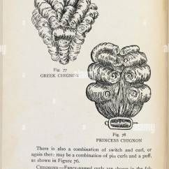 Pin Curl Diagram Walbro Wt Carb Greek Chignon And Princess Hair Curls Beauty Culture A Practical Handbook On The Care Of Person Designed For Both Professional Private Use Profusely Illustrated