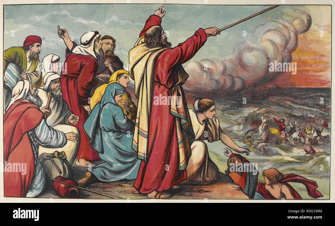 Moses Red Sea Bible High Resolution Stock Photography and Images - Alamy
