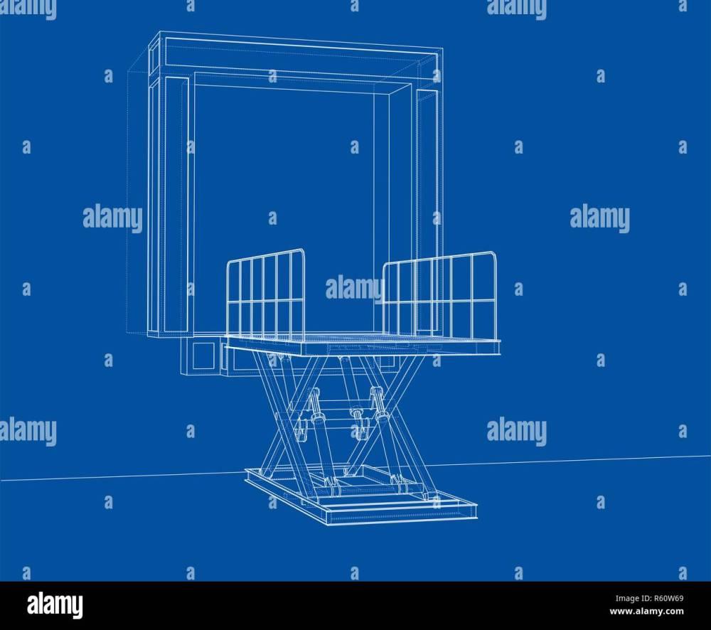 medium resolution of dock leveler concept stock image