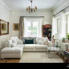 Large Living Room Sofas Chairs Modern Very Bight With Oak Wooden Floor Four Seats Sofa White Carpet And Retro Objets Greece