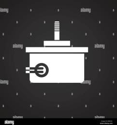 drone electric motor icon on black background for graphic and web design modern simple vector sign internet concept trendy symbol for website design web  [ 1274 x 1390 Pixel ]