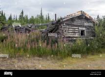 Canada Log Cabin Stock &