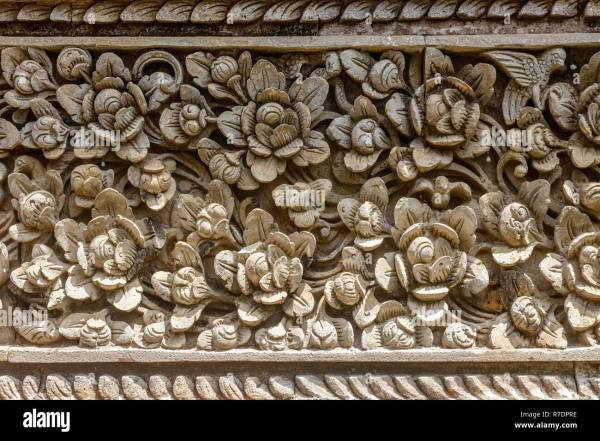Balinese Stone Carving Stock & - Alamy