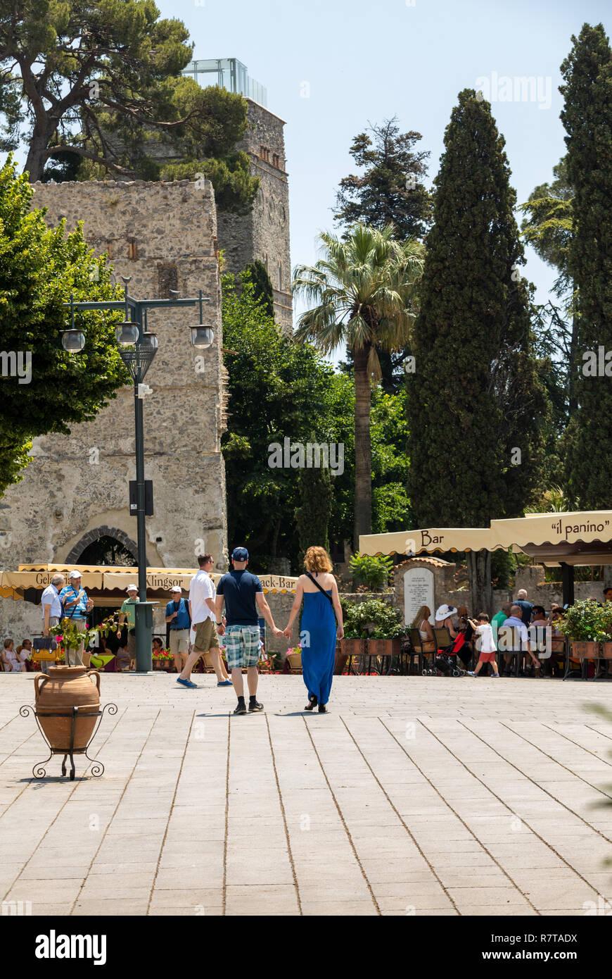 Couple Romantic Restaurant Italy Stock Photos Couple
