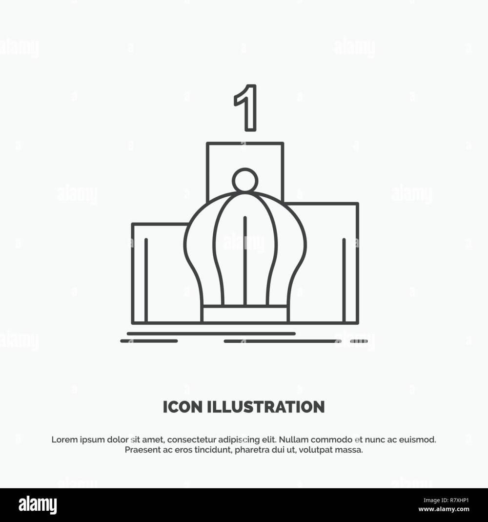 medium resolution of crown king leadership monarchy royal icon line vector gray symbol for