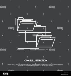 folder file management move copy icon line vector symbol for ui and ux website or mobile application [ 1300 x 1390 Pixel ]