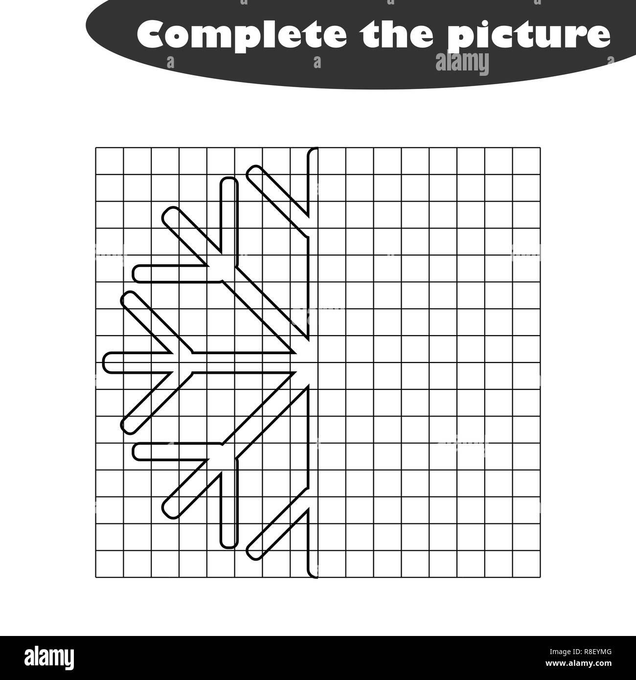 Christmas Border Line Drawing Black And White Stock Photos