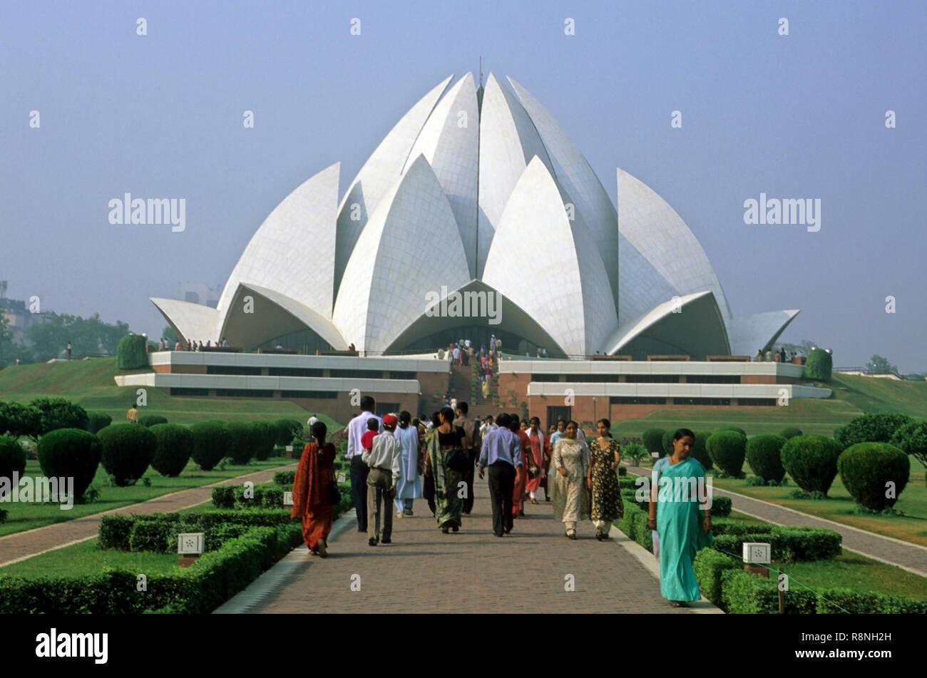 bahai temple or lotus