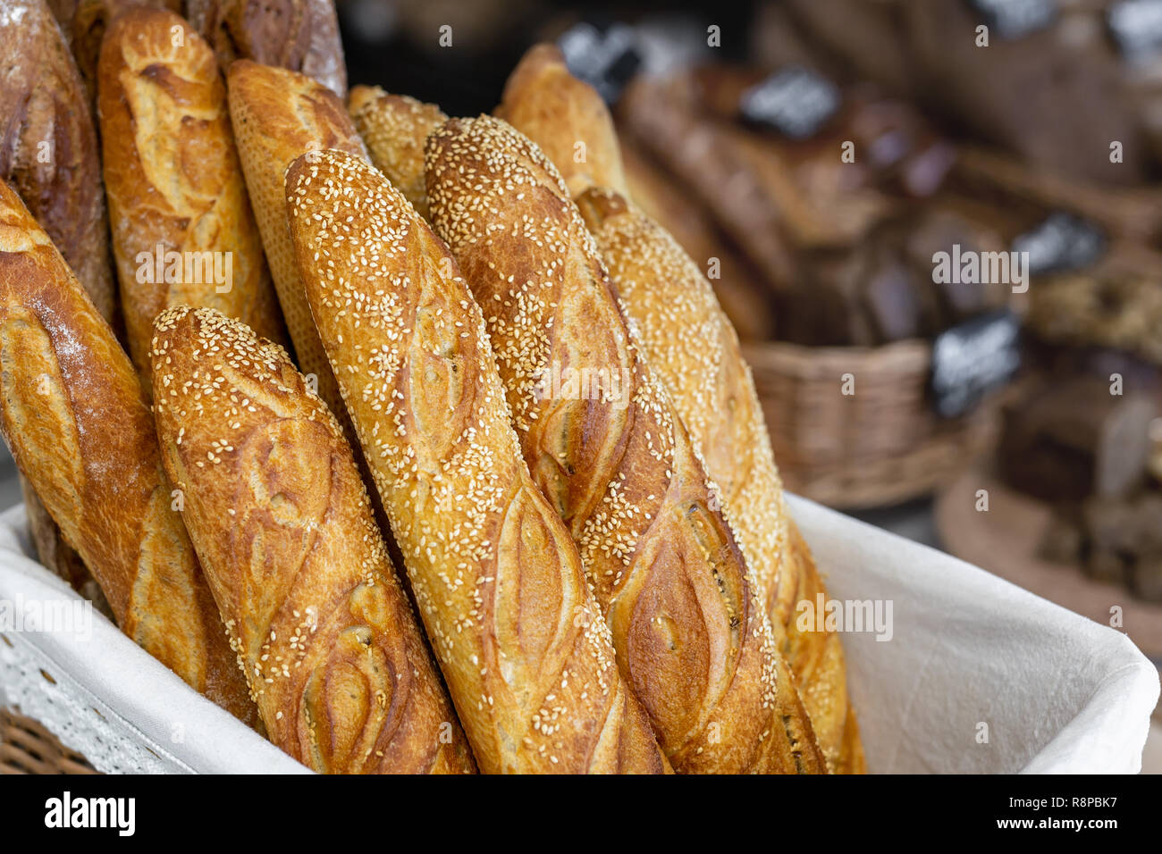 traditional crusty french bread