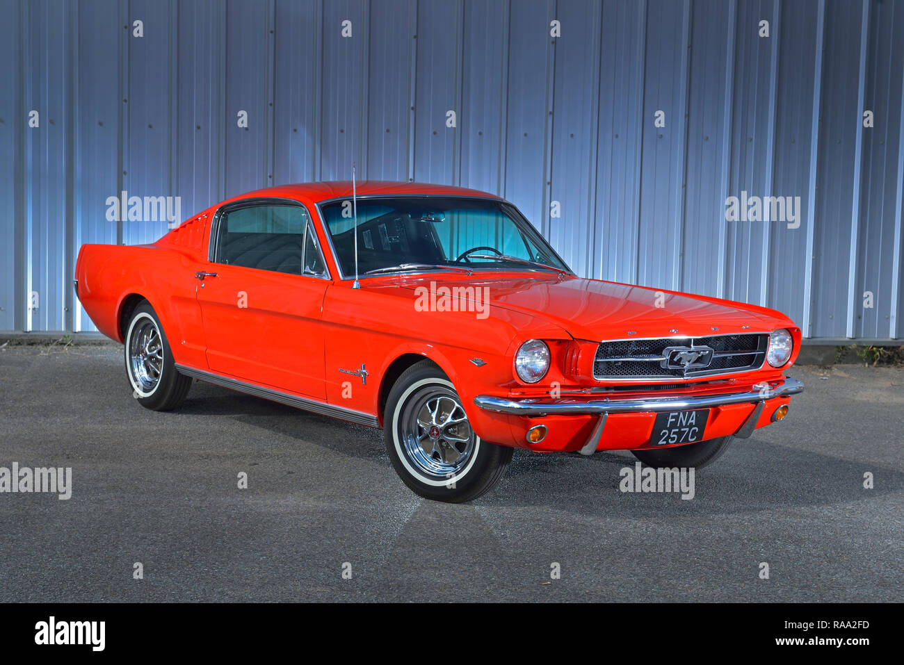 Don't miss what's happening in your neighborhood. Classic Ford Mustang Fastback Stock Photo Alamy