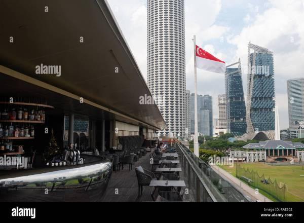 Roof Terrace Office Stock & - Alamy