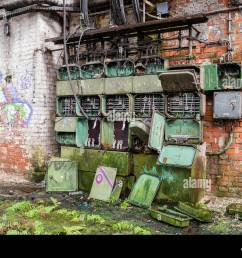 old fuse box factory stock image [ 1300 x 1000 Pixel ]