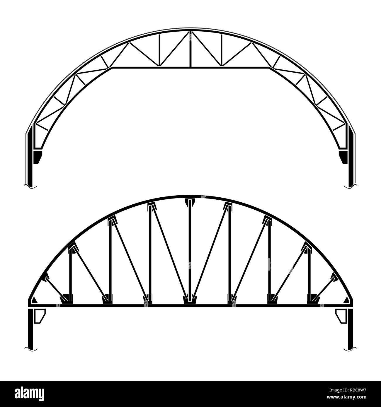 hight resolution of roofing building dome shaped vector illustration stock image