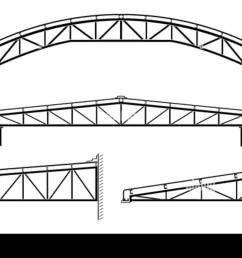 roofing building steel frame roof truss collection vector illustration stock image [ 1300 x 957 Pixel ]