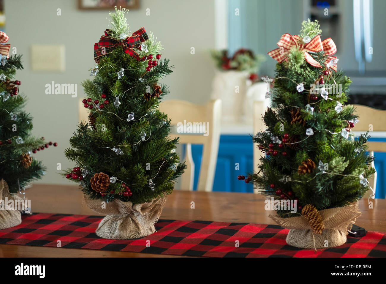 Indoor Christmas Decor High Resolution Stock Photography And Images Alamy