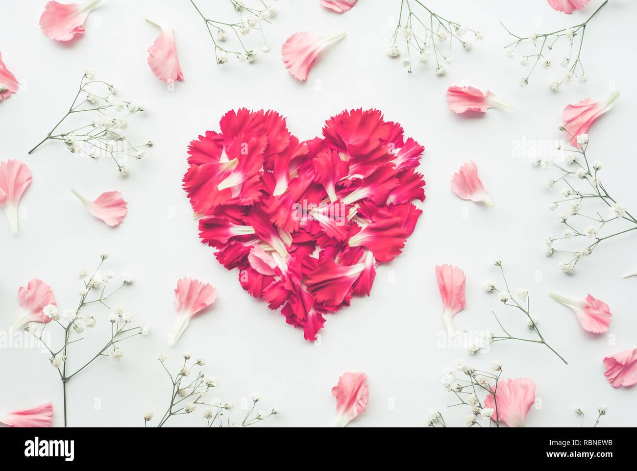 heart shape made of