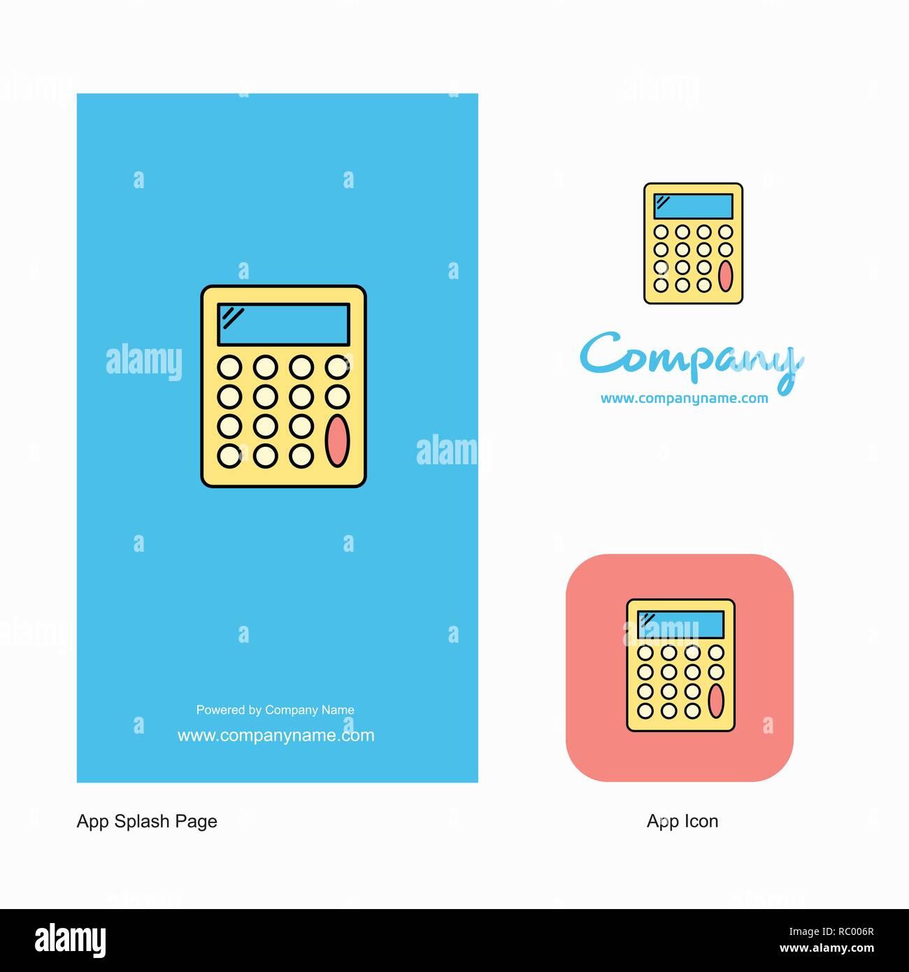 calculator company logo app