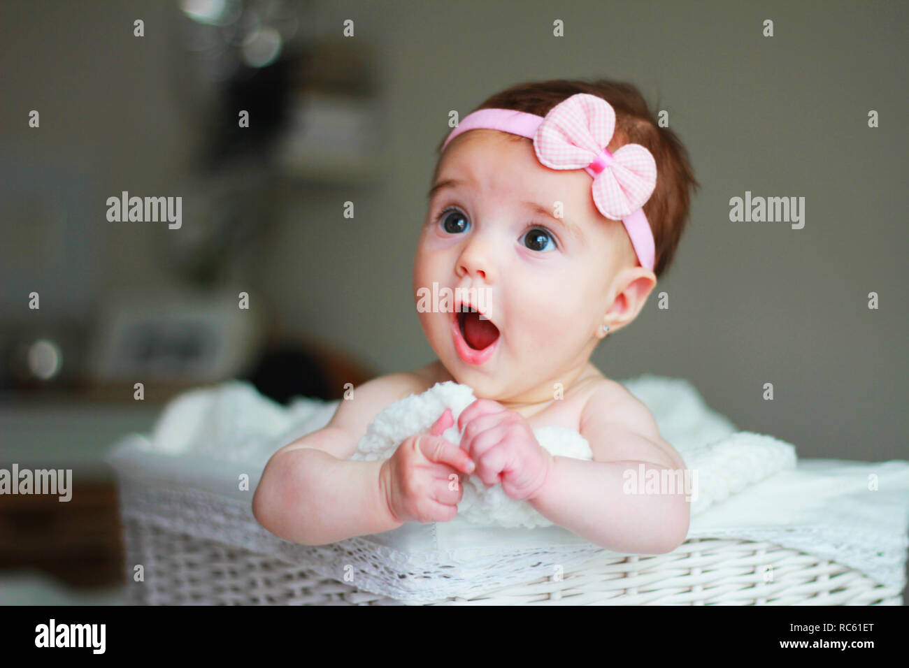 cute baby girl with