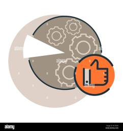reviews analysis diagramme icon e commerce marketing and smm cervice icon trendy flat [ 1300 x 1390 Pixel ]