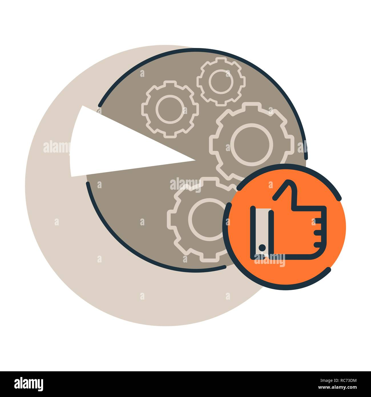 hight resolution of reviews analysis diagramme icon e commerce marketing and smm cervice icon trendy flat