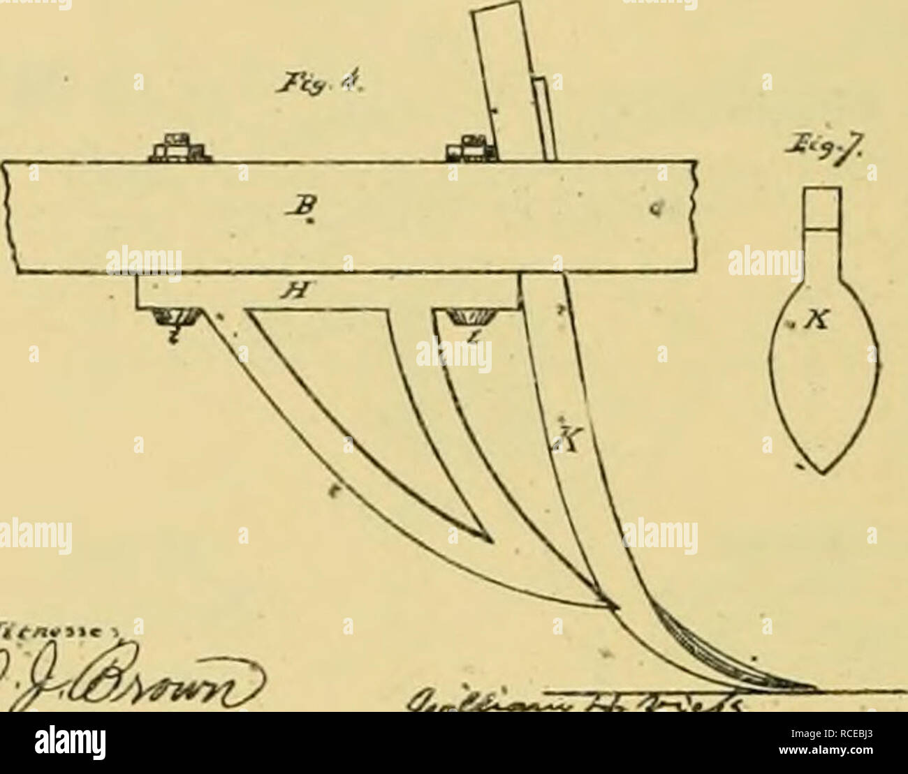 hight resolution of digest of agricultural implements patented in the united states from a d 1789 to july