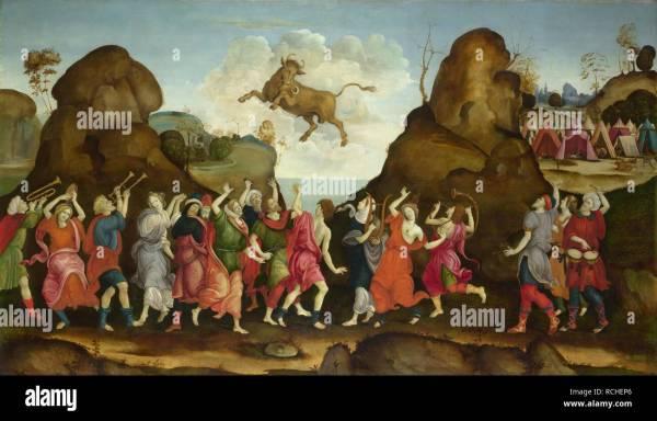 Bull God Stock & - Alamy