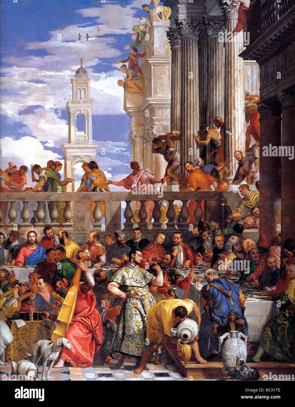 Les Noces De Cana Veronese : noces, veronese, Wedding, Veronese, Resolution, Stock, Photography, Images, Alamy