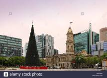 Adelaide Skyline Stock &